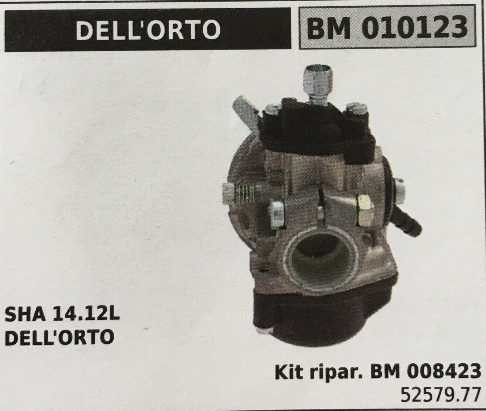 Cocheburador a Tanque Brumar Dell'Orto BM010123