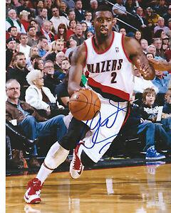 Wesley Matthews PORTLAND TRAILBLAZERS Signed 8x10 Photo W3 COA GFA