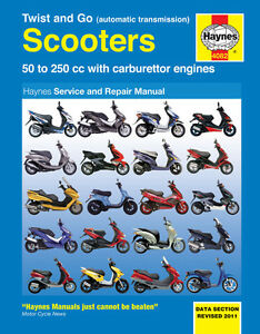 haynes manual 4082 peugeot elyseo looxor speedfight trekker rh ebay com peugeot trekker workshop manual pdf peugeot trekker manual