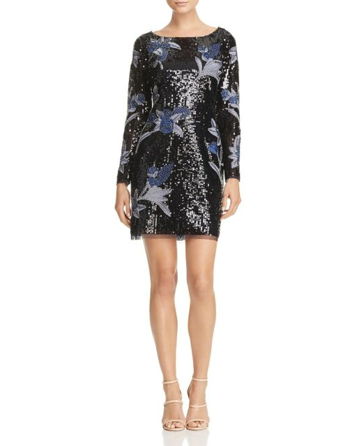 881613a33c7 Aidan Mattox Embellished Long-Sleeve Dress MSRP  450 Size 10   AN 2040 10