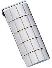 DOLAN BULLOCK  money clip paris ss &18k gold nmc 012400 great gift