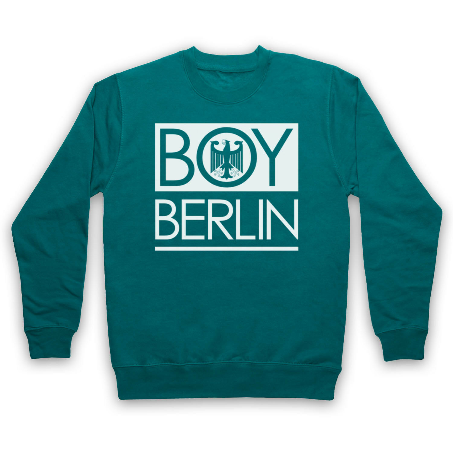 Boy Berlin allemand aigle Funny London Hipster London Funny Parodie Adultes Enfants Sweat 2b05f3