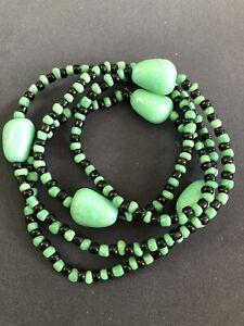 ELEKE-Collar-De-Orisha-OGGUN-decor-Ileke-Santeria-Yoruba-Collar-Religioso