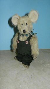 Ganz Cottage Collectibles Mouse ~ Ricky Rat ~ Stuffed Plush by Mary Holstad
