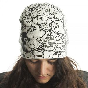 Official Nintendo SUPER MARIO BEANIE Men Women Adult Winter Hat Ski ... 6cbce335c39
