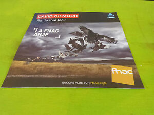 DAVID-GILMOUR-RATTLE-THAT-LOCK-PLV-30-X-30-CM-INSTORE-PAPER-DISPLAY