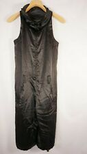 94c7964af905 Armani Exchange Womens Jumpsuit Size Small Satin Crop Parachute Sleeveless