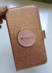 promo code 7f3d7 ea8f4 Details about Mimco shimmer Gold Flip Case for iphone 6 / 6S / 7 / 8