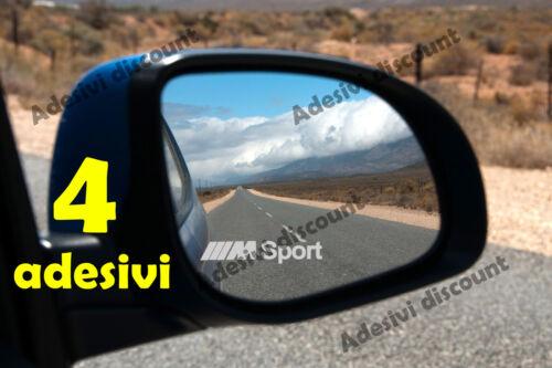 ADESIVI specchietti BMW M SPORT frost smerigliato STICKER AUTO decal