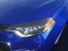 14-16 Corolla 3M Carbon Fiber vinyl Headlight Eyelid overlays precut 2 pieces