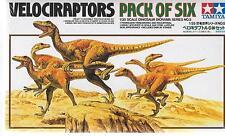 Tamiya Velociraptors, Pack of Six in 1/35   60105 ST