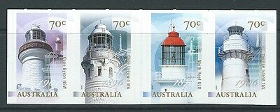 Australien 2015 Leuchttürme Selbstklebend Streifen Von 4 Nicht Gefaßt Postfrisch SchöN Und Charmant Australien