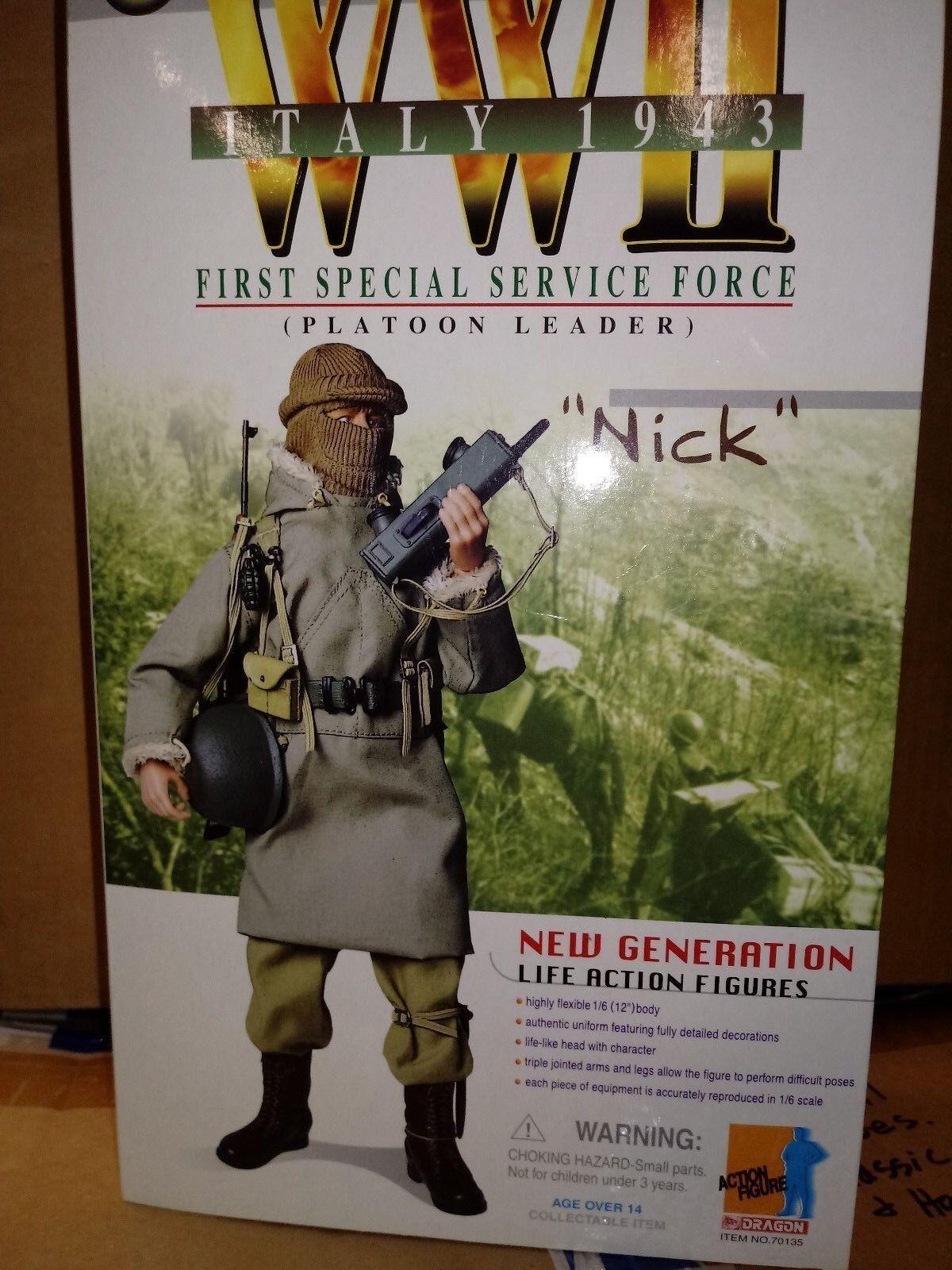 WW2  US Platoon Leader  1943 1943 1943 1st Special Service Force 93ba6b