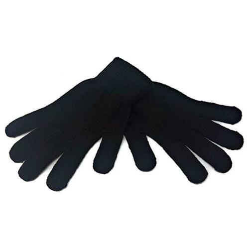 1 Pair Kids Magic Stretch Winter Outdoor Thermal Gloves