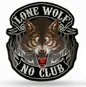 kutte weste aufn her lone wolf thor free biker harley. Black Bedroom Furniture Sets. Home Design Ideas
