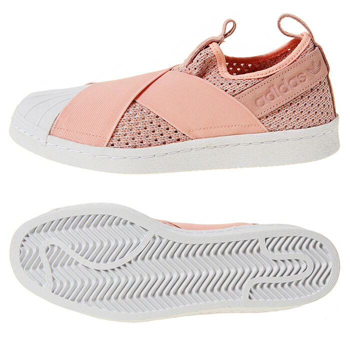 Adidas Women's Original Superstar Suede Slip-on BB2122 Sneakers Shoes Suede Superstar Pink 25c02c