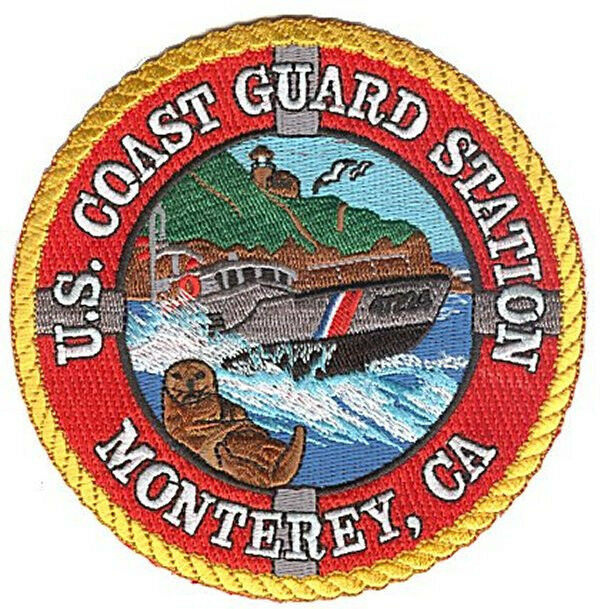Station Monterey California sea otter 47footer W5246 USCG Coast Guard patch
