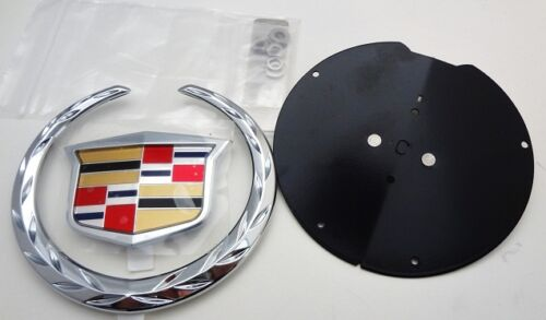 Cadillac CTS 2003 2004 GRILLE EMBLEM /& E/&G MOUNTING KIT!!