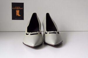 HonnêTe Rhin Berger Maître Chaussures Hilta Femmes Escarpins Chaussures True Vintage Basses Uk 7-afficher Le Titre D'origine RéTréCissable
