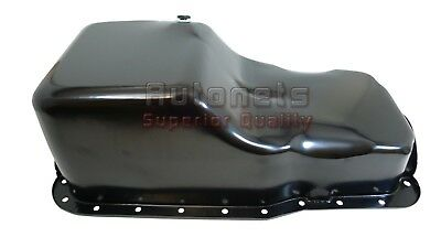 Small Block 260 289 5.0 63-96 SBF Ford 302 Front Sump Chrome Steel Oil Pan