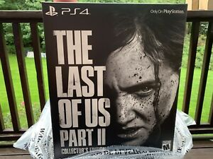 The-Last-of-Us-Part-II-2-Collector-039-s-Edition-PS4-Playstation-4-NEW-SEALED