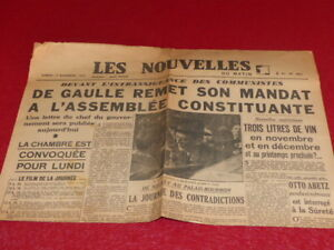 Press-WW2-39-45-the-Nouvelles-of-Morning-034-251-17-November-1945-Jean-Marin