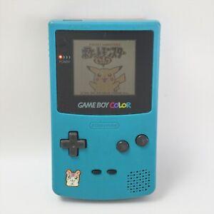 JUNK Game Boy Color BLUE Console CGB-001 Noisy sound 14978913 Nintendo gb