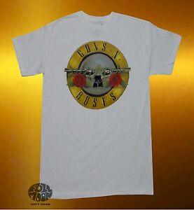 Classic Bullet Logo T-shirt Guns N´roses Musik Shirts & Hemden