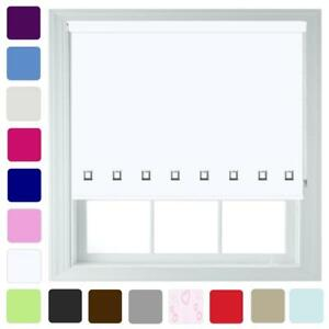 Made-to-Measure-Roller-Blinds-With-Square-Eyelets-amp-Metal-Fittings-Quality-Blind