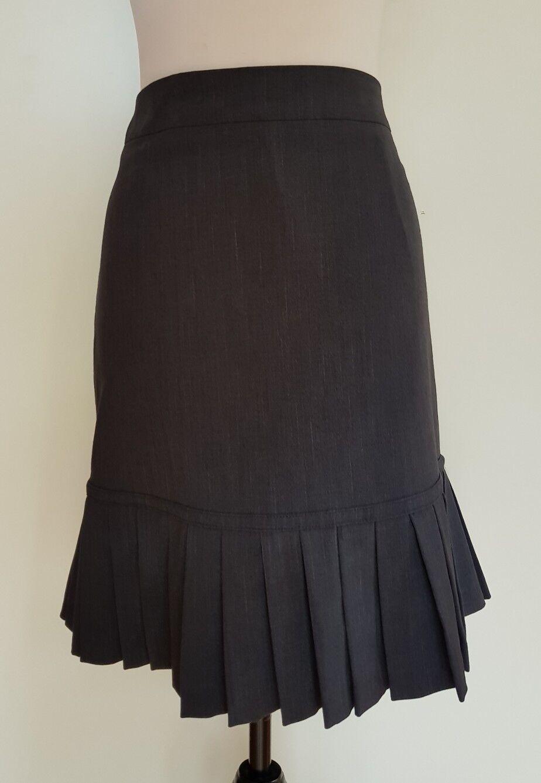 COCOC AUSTRALIA Charcoal Skirt Size 14