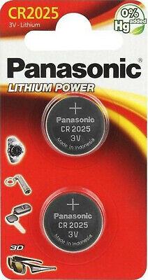 4x Panasonic Knopfzelle Lithium Cr2025 (2x2er Blister) 3v Cr-2025el/2b Die Neueste Mode