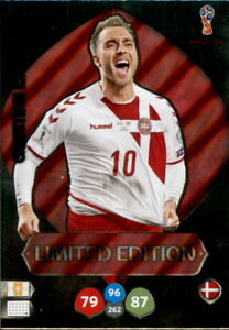 Panini-Adrenalyn-XL-World-Cup-WM-Russia-2018-Christian-Eriksen-Limited-Edition