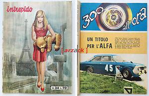 INTREPIDO-34-Universo-1967-300-All-039-ora-ALFA-ROMEO-Challenge-Europeo-De-Adamich
