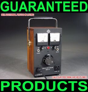 NEW-CUSTOM-MADE-ONE-OF-A-KIND-GENERAL-RADIO-PORTABLE-DUAL-METERED-10-AMP-VARIAC