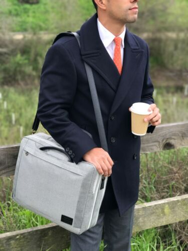 Hackpack Luxury Convertible Briefcase /& Backpack for Commuting Professionals