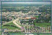 Aerial View of Springfield, Missouri, Queen City of the Ozarks, MO --- Postcard
