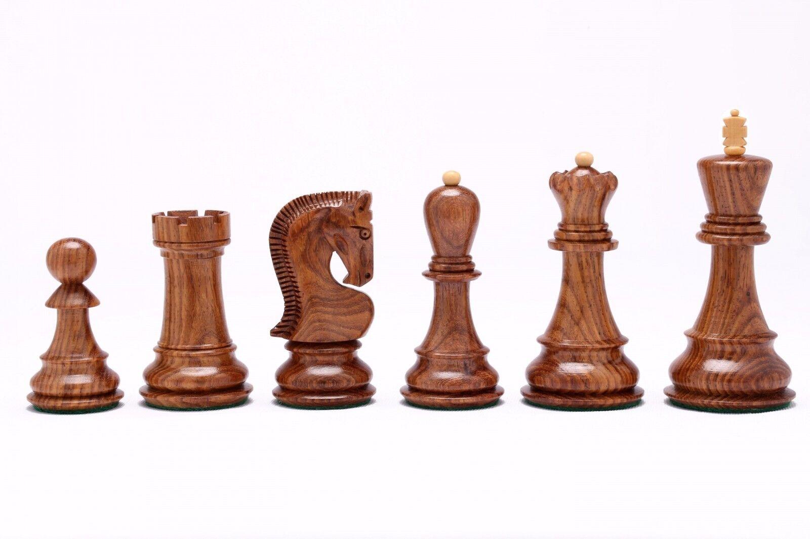 Chessbazaar Exclusive Russian Zagreb Zagreb Zagreb Chess Pieces in Sheesham Wood - 3.9  S1236 8a1539