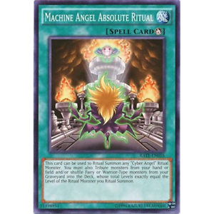 Common x3 Machine Angel Absolute Ritual Unlimited Edition RATE-EN055