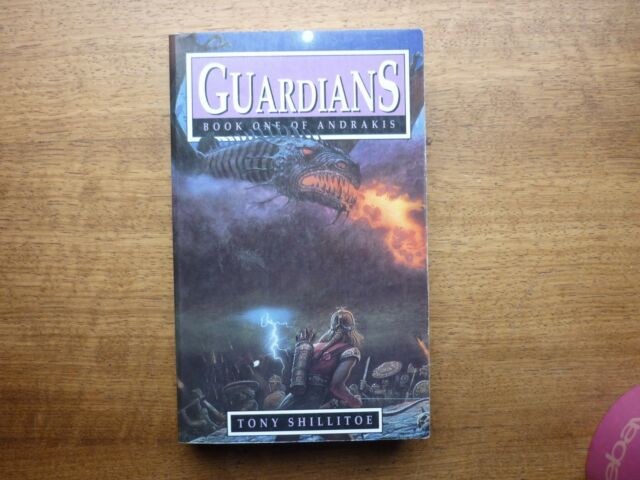 Tony Shillitoe guardians book 1 of Andrakis htf fantasy paperback