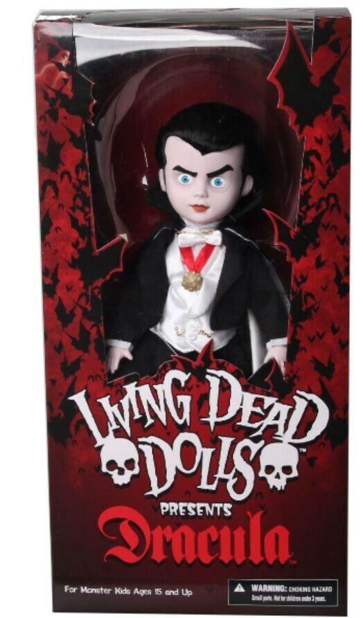 Living Dead Dolls Presents Dracula Doll Mezco Toys