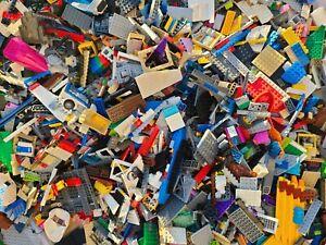 Bulk LEGO LOT 1 pound of Bricks Parts Pieces Tires Specialty Windows 1lb Bulk