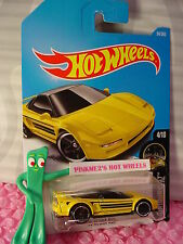 '90 ACURA NSX #94✰yellow;pr5✰NIGHTBURNERZ✰2017 i Hot Wheels case D/E