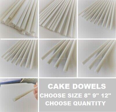 Gâteau brochage Dowel Rods Support à plusieurs niveaux Gâteaux Mariage Sugarcraft Chevilles