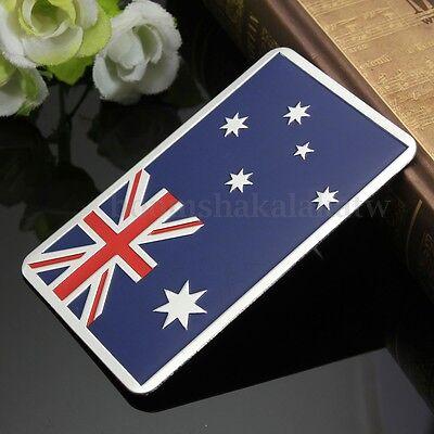Car Truck Australia Australian Flag Emblem Badge Decal Sticker Alloy Aluminum