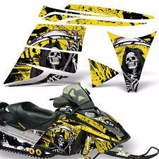 Decal Graphic Kit Ski Doo Rev Skidoo Sled Snowmobile Sticker Wrap 03-09 REAP YLW