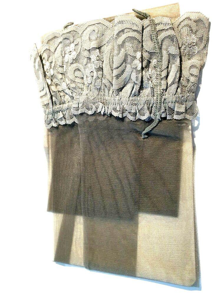2 X Paires Femmes Genou Haut Gris Doux Chaussettes Dames Cuisse Haute Chaussettes BNWT