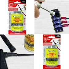 Liquid Electrical Tape 4 Oz Can With Applicator Brush Cap Black Waterproof Seals