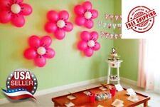 10 Pcs Latex Balloon Sheet Flower Shape Clip Birthday Party Wedding Decoratio BR
