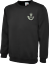 The Rifles Embroidered Sweat Shirt