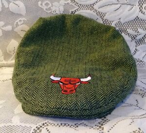 Chicago-Bulls-Bud-Light-Newsboy-Newsy-Cap-St-Patricks-Day-SGA-RARE-Collectible